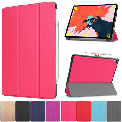 "Smart PU Leather Folio Stand Case Cover Shockproof For New iPad Pro 12.9"" 2018"