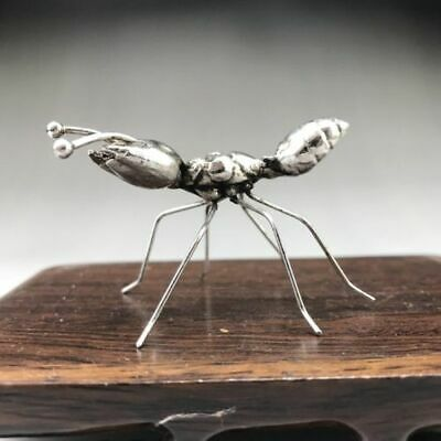 Collection China Tibet Silver Ant statue.  g262