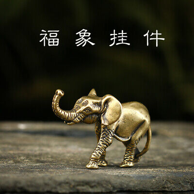 Chinese antique brass statues are hand-carved with exquisite elephant statues.