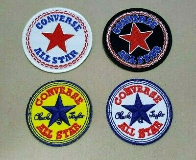 379ebc7952fa CONVERSE ALL STAR SPORTS BRAND SHOES BADGE Embroidered Iron Sew On Patch  Logo