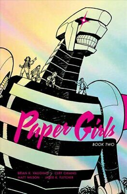 Paper Girls Deluxe Edition Volume 2 by Brian K Vaughan 9781534310612 | Brand New