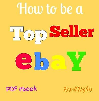 eBay Guide eBooks (How to be a top seller PDF book )+ 6 bonus