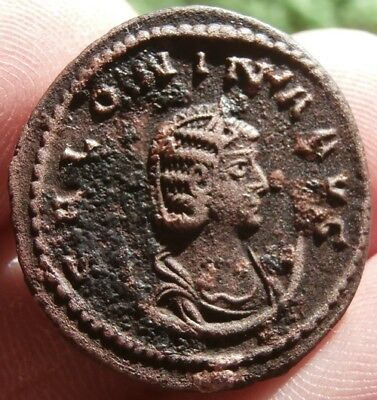 SALONINA, Augusta 254-268 A.D Wife of Gallienus!. Antoninianus. Cyzicus mint