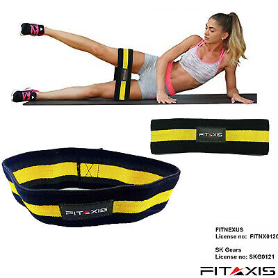 FITAXIS Hip Restriction Bands Elastic Booty Glute Hip Circle Gripper & Expanders