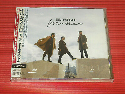 2019 JAPAN CD IL VOLO MUSICA with BONUS TRACK