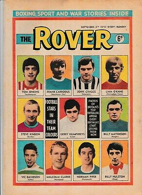 THE ROVER COMIC 5th SEPTEMBER 1970 IN GOOD CONDITION