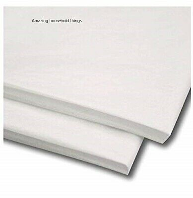 """25 x White Tissue Paper / Gift Wrap / Wrapping Paper Sheets 20"""" x 30"""""""