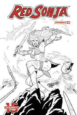 RED SONJA #1, COVER G CONNER 1:20 VARIANT, New, First print, Dynamite (2019)