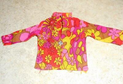 Asian Print Jacket/Blouse for Tiny Kitty Doll
