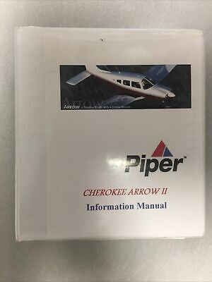 Piper Cherokee Arrow II Information Manual