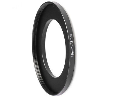 Concept Metal Stepping Rings 49-72mm Step Up Filter Adapter Ring for Canon Nikon