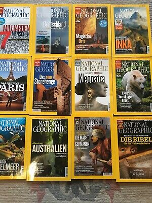national geographic 2011, Alle Hefte