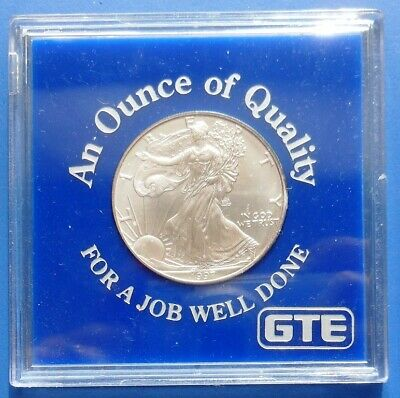 1997 American Eagle...gte / An Ounce Of Quality...1 Oz. .999 Fine Silver
