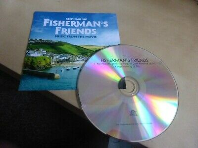 Fisherman's Friends No Hopers, Jokers & Rogues / Keep Hauling 2 Track Promo CD