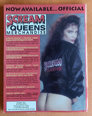 Scream Queens Illustrated - Volume 1 - Number 1 - 1993 - Collector's Edition