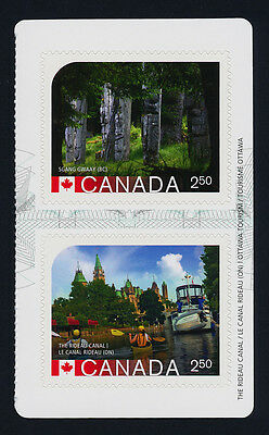 Canada 2744a Right Booklet Pane MNH UNESCO World Heritage Sites, Rideau Canal