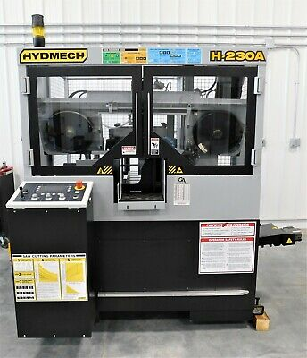 #10114: NEW Hyd-Mech H230A Auto Dual Post Horizontal Bandsaw