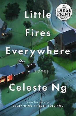 Little Fires Everywhere (Random House Large Print), Ng, Celeste, Good Condition,