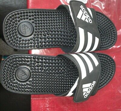 ea8338e26dd3 Adidas Adissage Black Slides Shower Athletic Swim Sandal - Women s - 087609