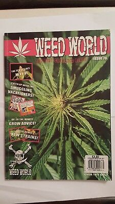 WEED WORLD MAGAZINE  -issue  78- cannabis marijuana