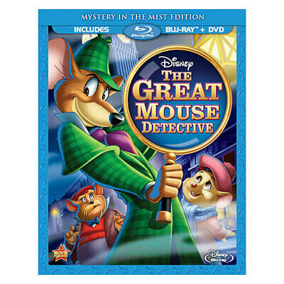 Buena Vista Home Video Br109728 Great Mouse Detective (Blu-Ray/Dvd/2 Disc/Spe...