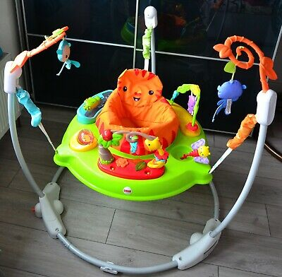 Fisher-Price Roaring Jumperoo Baby Bouncer in very good condition