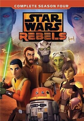 Buena Vista Home Video D151021D Star Wars Rebels-The Complete Season 4 (Dvd/3...
