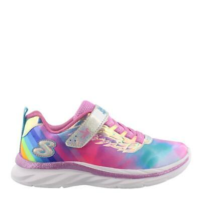 d72a122fe57bd Girl' Skechers Quick Kicks Alicorn Wings Kids Athletic Girls Shoes Low Heel