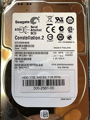"Seagate Constellation.2 ST91000640SS 1TB 6Gb/s 2.5"" SAS Hard Drive 4 Dell HP IBM"