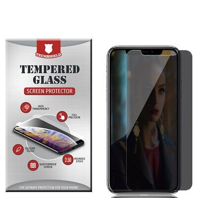 For Apple iPhone X/XS Privacy Tempered Glass Screen Protector Anti Spy USA New