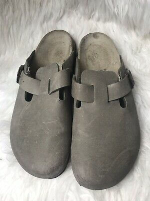 540ab4d11299 Birkenstock Birkis Womens Shoe Size 8 Euro 39 Tan Clog Casual 250 Sandal