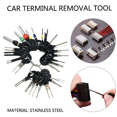 26x Car Terminal Removal Tools Wire Plug Connectors Extractor Puller Release Pin