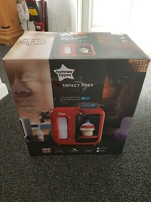 Tommee Tippee Perfect  RED Prep Day & Night BRAND NEW IN SEALED BOX