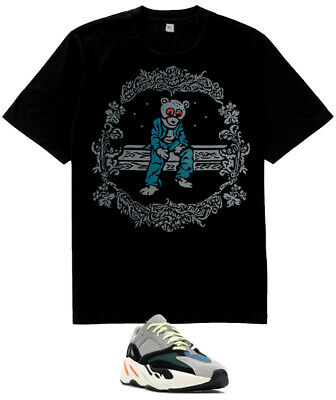 f2c09cbf3 New Kanye west Dropout Bear shirt match Yeezy Boost 700 Wave Runner Solid  Grey C