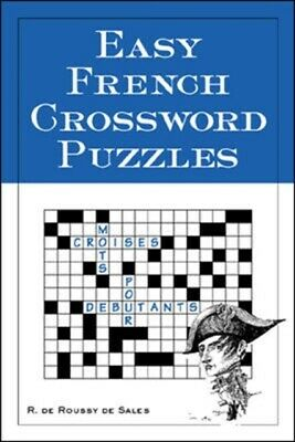 Easy French Crossword Puzzles (Language - French) (Paperback), Ro...