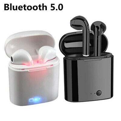 Wireless In-Ear Earbud Bluetooth 5.0 Earphone Music Android iPhone Charging Pod