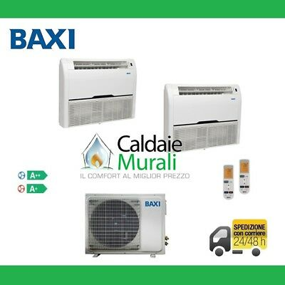 Air Conditioning Baxi Dual Luna Climate Floor/Ceiling 9000+9000+LST50-2M Wifi