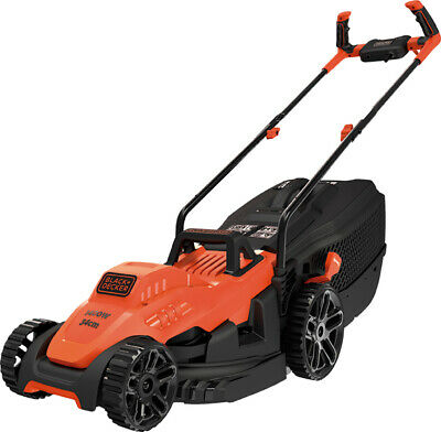 Cortacesped Black And Decker Bemw461Bh-Qs 1400W 34Cm