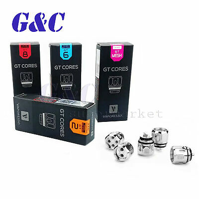 For Vaporesso2 GT MESH GT2 GT4 GT6 GT8 CORE NRG Tank Coil Heads 3Pack