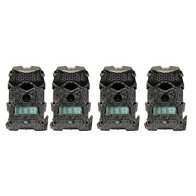 Wildgame Innovations Mirage 16 16MP 720p Video Hunting Trail Camera (4 Pack)