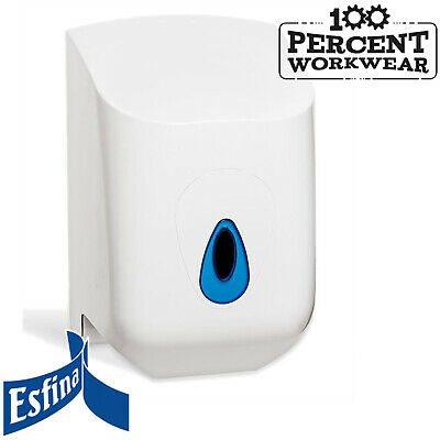 Esfina Centre Feed Paper Roll Dispenser Janitorial Bathroom Public Toilets Cafe