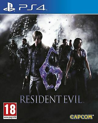 Resident Evil 6 HD PS4 Brand New Sealed Official Game PEGI 18