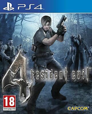 Resident Evil 4 PS4 PlayStation 4 Brand New Sealed Official UK PAL