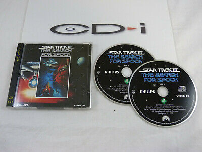 Philips CD-i: Star Trek III - The Search For Spock - movie