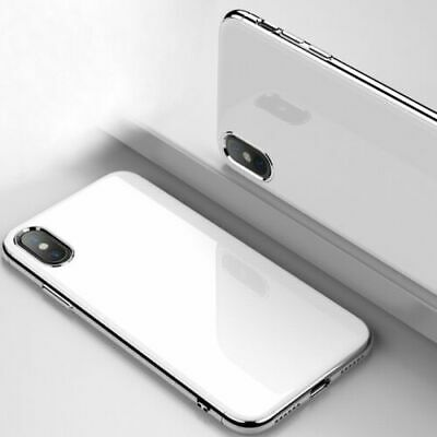 CHROME Shockproof Case Tempered GLASS Cover For iPhone XR XS MAX X 7 8 6 6s Plus