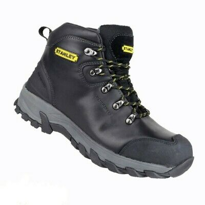 Stanley Kingston Black Safety Work Boots SIZE 11