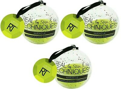 3 Real Techniques Sam & Nic Miracle Complexion Sponge Limited Edition Ornaments