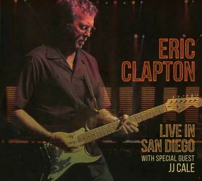 """CD ERIC CLAPTON """"LIVE IN SAN DIEGO (WITH SPECIAL GUEST JJ CALE) - 2CD"""". New and"""