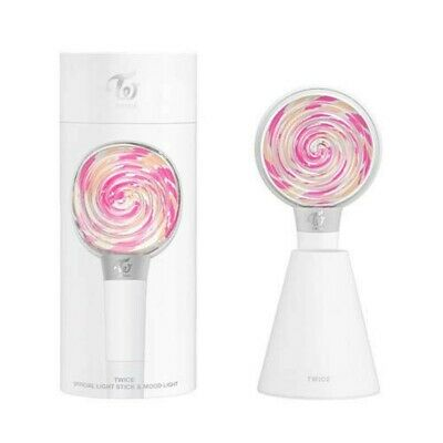 TWICE Official Pen Light CANDY BONG Mood Light LIGHT STICK w/ Tracking NEW