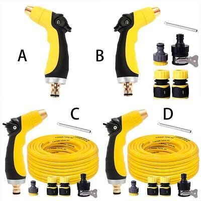 High Pressure Power Car Washer Water Spray Gun Nozzle Hose Wand Attachment Kit